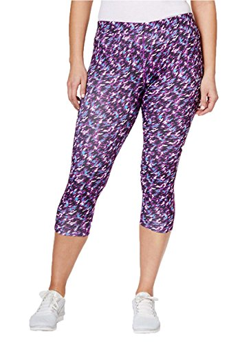Nike Women`s Plus Size Dri-FIT Essential Printed Running Capris