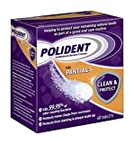 Polident Partials Denture Cleanser, 40 Count (Pack of 12)
