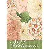 Better Homes and Gardens Large House Flag -Welcome Pink Hydrangeas