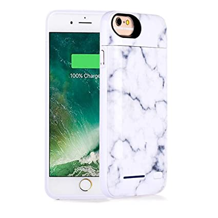 Amazon.com: iPhone 8 funda de batería, iPhone 7, iPhone 6 ...
