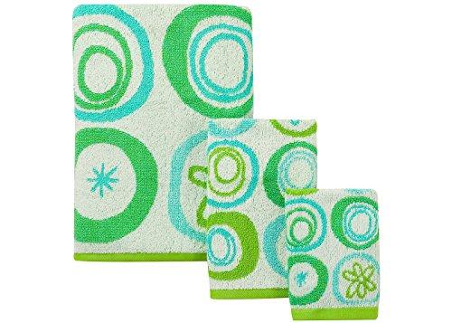 Creative Bath Products 'All That Jazz' Bathroom Set 3 Piece Towel Set