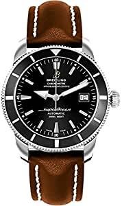 Breitling Superocean Heritage 42 Mens Watch on Brown Leather Strap A1732124/BA61-437X
