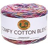 Lion Brand Yarn 756-718 Company Mai Tai - Ovillo de lana, Jardín de Flores, 1, 1