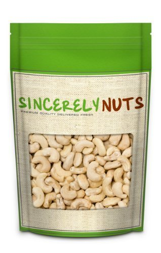 Sincerely Nuts Cashews Whole Unsalted product image