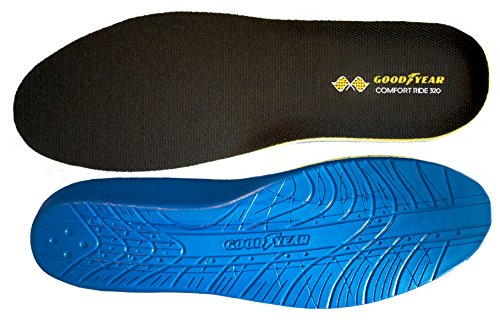 Goodyear ComfortRide 320 Memory foam insole - 1 pair. WOMEN's Size 5-12 ()