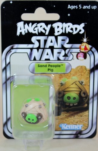 Sdcc Star (2013 SDCC Hasbro Exclusive Star War Angry Birds Sand People Pig - Carded)