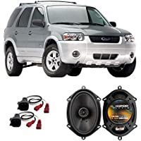 Fits Ford Escape Hybrid 2004-2007 Rear Door Factory Replacement Harmony HA-R68 Speakers