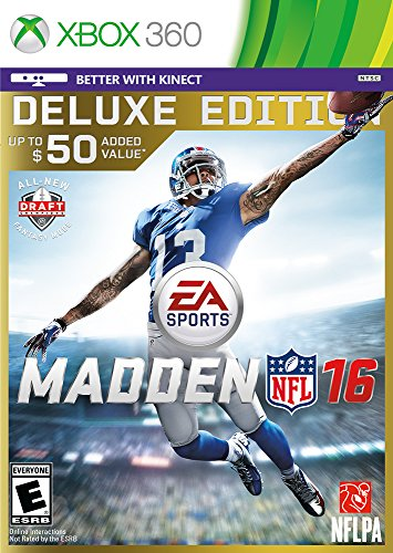 Madden NFL 16 – Deluxe Edition – Xbox 360