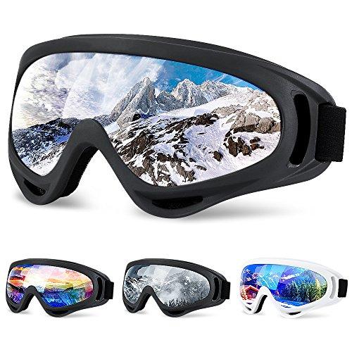 SiFREE Ski Goggles, Snowboard Goggles with UV 400 Protection