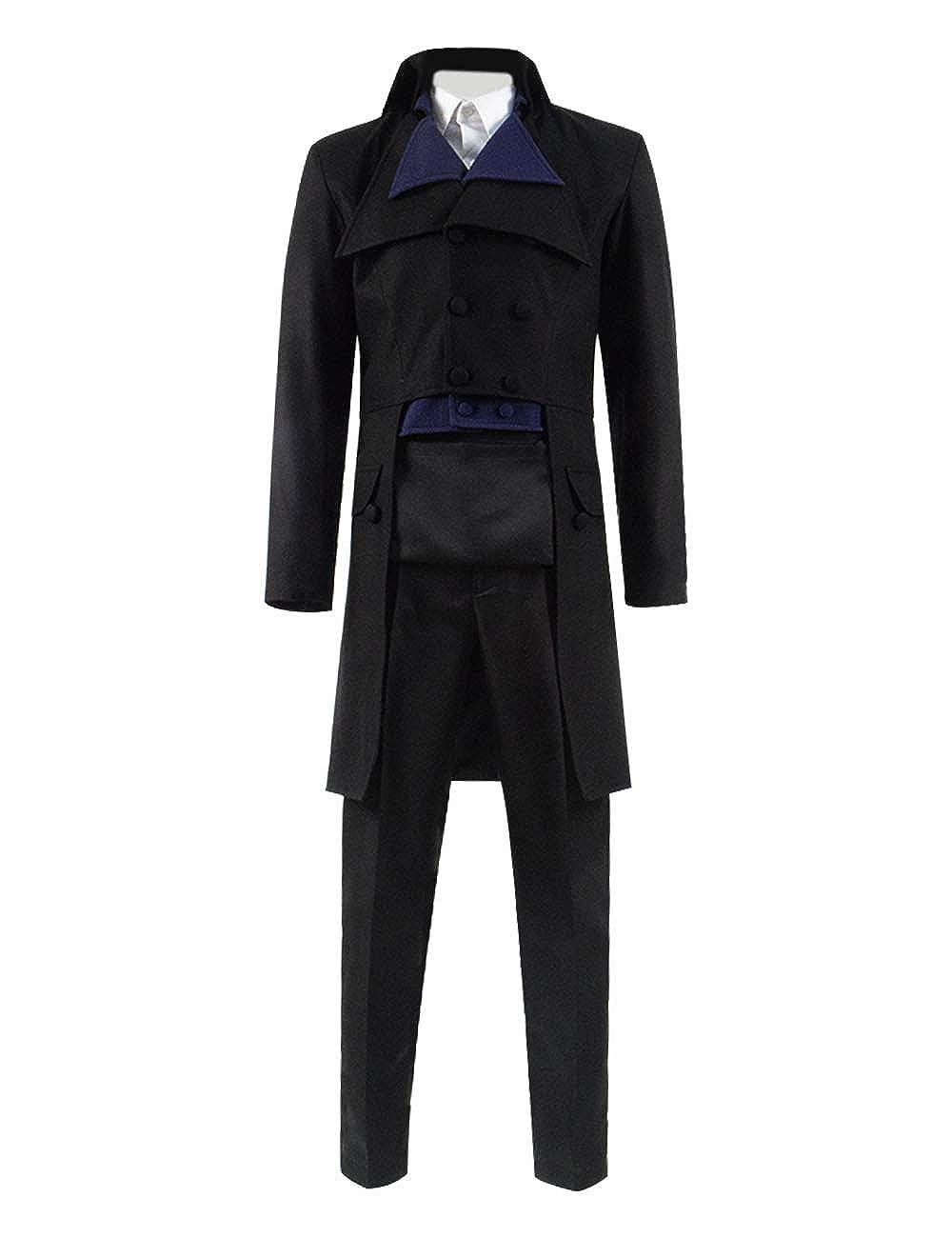 Yewei TV-Serie Polda Schwarz Kostüm Herren Cosplay Mantel Hemd Hosen Kostüm Outfit B07PVFVWJZ Kostüme für Erwachsene Hohe Qualität und geringer Aufwand     | Haben Wir Lob Von Kunden Gewonnen