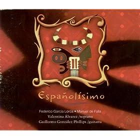 Amazon.com: Canciones espanolas Antiguas: Las tres hojas: Valentina
