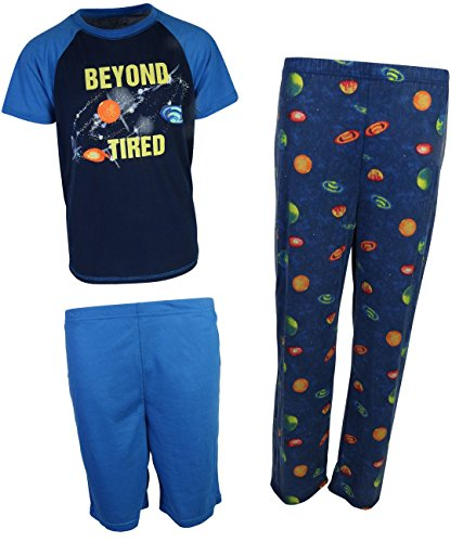 Set Freestyle (Freestyle Boy's 3-Piece Spring Pajama Set, Space, Size 5')