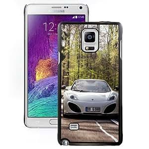 Beautiful Designed Antiskid Cover Case For Samsung Galaxy Note 4 N910A N910T N910P N910V N910R4 Phone Case With 2013 Gemballa McLaren_Black Phone Case