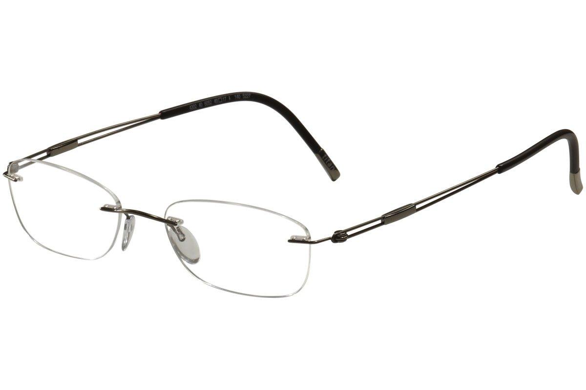 Amazon.com: Silhouette Eyeglasses Titan Next Gen Chassis 5227 6052 ...
