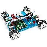 4WD60mmメカナムホイールロボット (10021) [台車ロボット・研究開発]