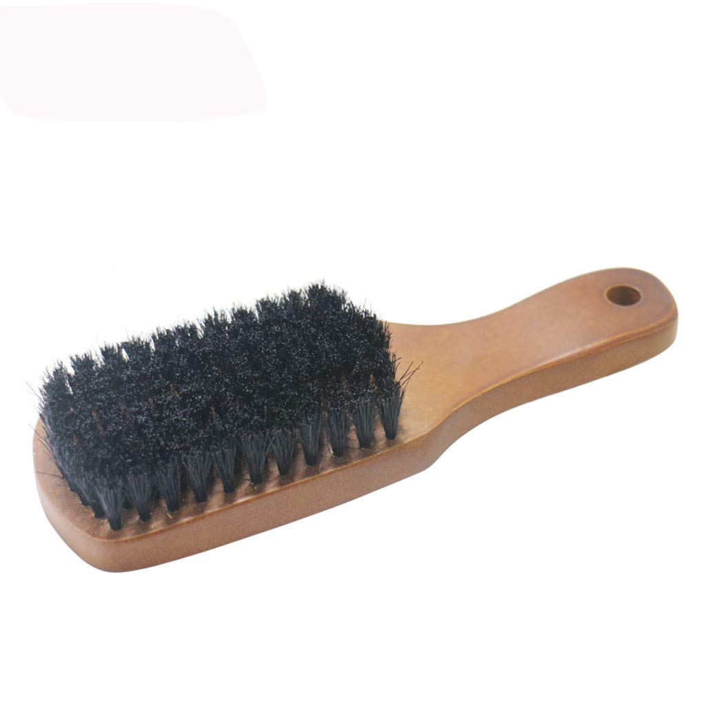 Rameng Barb/é Brosse Poils en Bois Brosse /à Cheveux de Poils Sanglier Pour Hommes Beard Brush Naturel