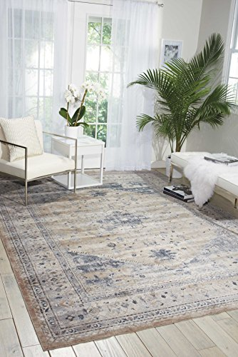 Kathy Ireland Worldwide MAI02 Rustic/Vintage Traditional Area Rug, 7'10