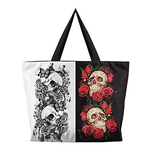 à avec Style Eclair Fermeture Bandoulière Shopping 3D ABBY Main Japonais Sacs Numérique Femme Sac d'Impression Sac de Sac Rose à aT46q4Yw1