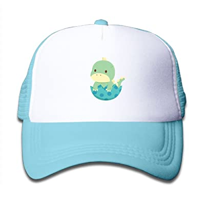 32f822f02c6df Aiw Wfdnn Baby Dinosaurs Egg Adjustable Mesh Baseball Caps Kid s Trucker Hat  Boys Girls