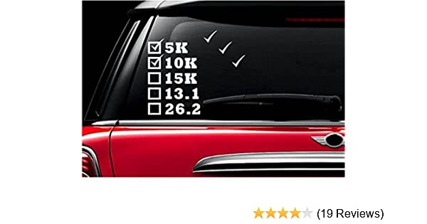 26.2 marathon Decal Vinyl Car Window Sticker ANY SIZE