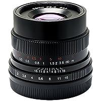 7artisans Manual Fixed lens 35mm/f2 Ten Blades for Sony A7 A7II A7R A7RII A7S A7SII A6500 A6300 A6000 A5100 A5000 NEX-3 NEX-3N NEX-3R E-mount Cameras (Black)