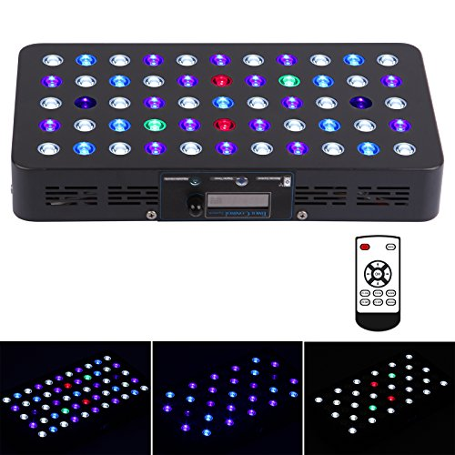 BLOOMSPECT 165W LED Aquarium Light Timer Control Full Spectrum CoralReef SPS/LPS by BLOOMSPECT