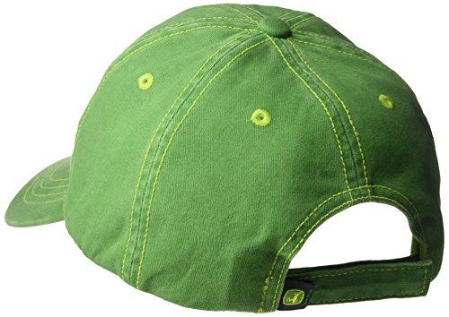 John Deere Boys' Little Baseball Cap, Green, Toddler