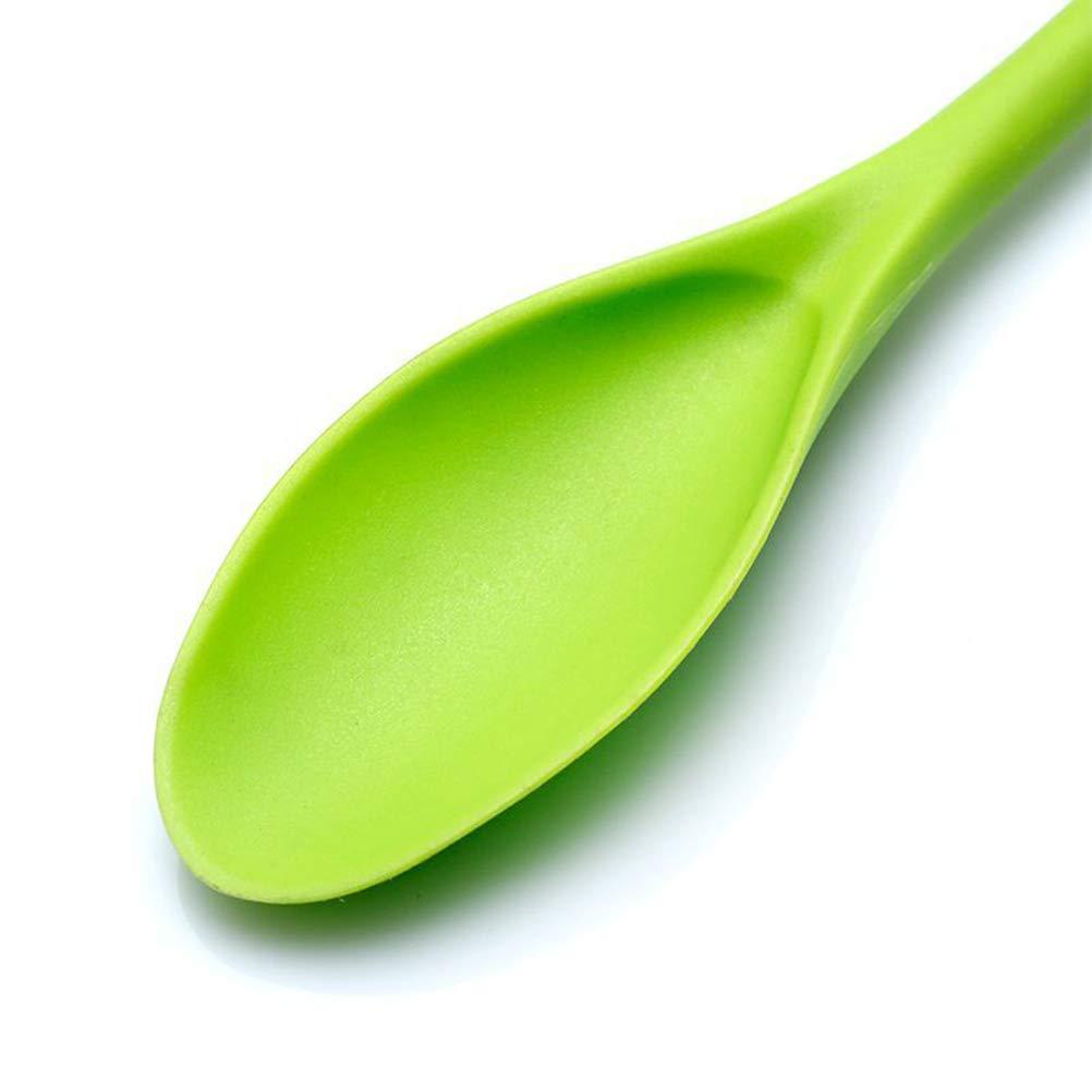 Bestonzon 3pcs lungo manico in plastica da cucina cucchiaio da t/è cucchiaio caff/è Stir cucchiaio