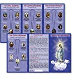 Hail-Mary-Our-Father-Prayers-How-to-Pray-the-Rosary-Tri-Fold-Reference-Pocket-Holy-Card