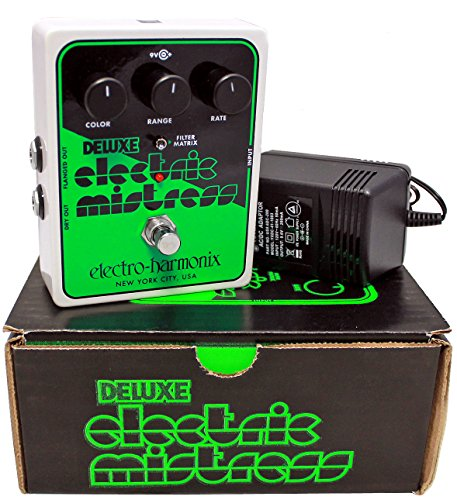 Electro Harmonix Deluxe Electric Mistress XO Analog Flanger with Power ()