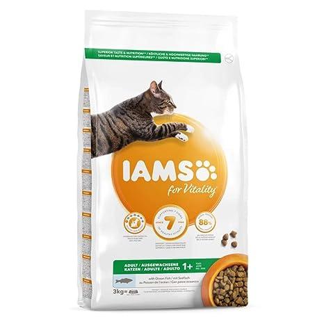 IAMS for Vitality Alimento para Gato Adulto con pescado oceánico ...