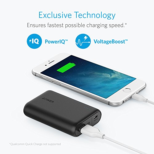 Anker PowerCore Speed 10000mAh, Qualcomm Quick Charge 3.0 Po
