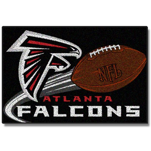 NFL Atlanta Falcons 20-Inch-by-30-Inch Tufted Rug