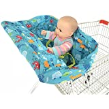 Standard Size 2-in-1 Shopping Cart Cover | High Chair...
