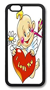 ACESR Cupid Shop iPhone 6 Case TPU Back Cover Case for Apple iPhone 6 4.7inch Black