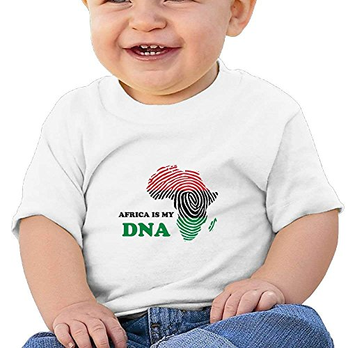 Baby Tee Shirt Dna My White Africa Sleeve Short T Is Fhcbfgd dEqYzPxd