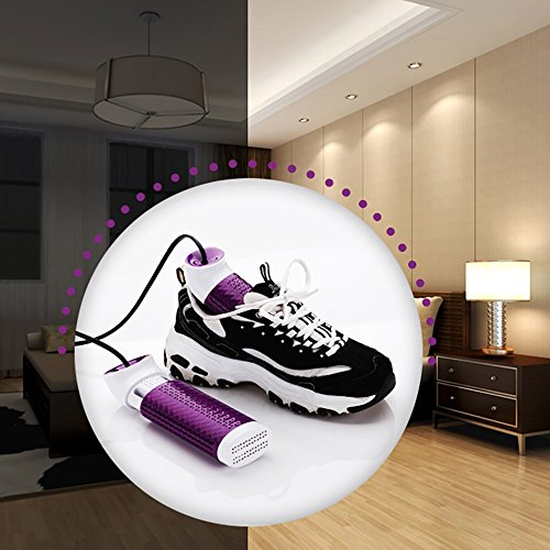 QFFL Portable Scalable Shoes Dryer Grilled Shoes Adult Drying Heating Shoes Machine Purple shoes dryer ( Color : B ) B Pzd2OgBQp