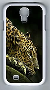 Cheetah Hard Cover Back Case For Samsung Galaxy S4,PC Fashion White Case for Samsung Galaxy S4