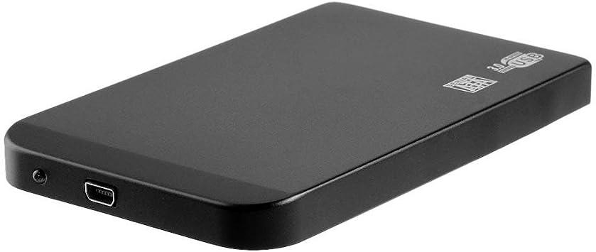 Ultra Thin 2.5in USB3.0 SATA SSD HDD Hard Drive Case Aluminum Enclosure Box 3TB