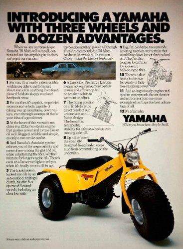 Yamaha Three Wheeler - 1