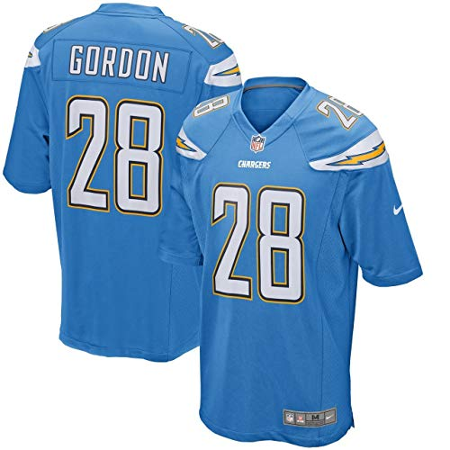 NIKE Melvin Gordon Los Angeles Chargers Youth Boys Alternate Game Jersey - Powder Blue Youth Small (8)