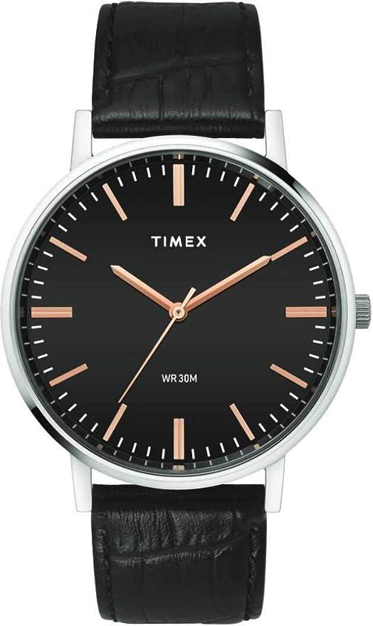 Timex Analog Black Dial Men's Watch TW0TG8000 Men's Wrist Watches