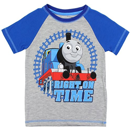 Thomas T Thomas The Train Toddler Boys T-Shirt tee Sizes 2T 3T 4T Blue Gray (Train Apparel)