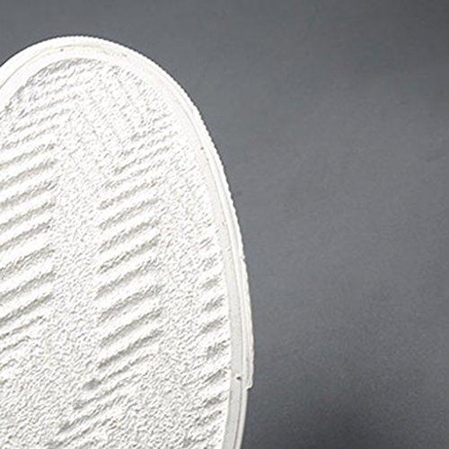 tela Size di Espadrillas uomo YaNanHome da di uomo traspiranti scarpe Green Scarpe basse Color 41 scarpe basse tela scarpe basse Nuove da coreano tendenza scarpe Black di aAUqSA