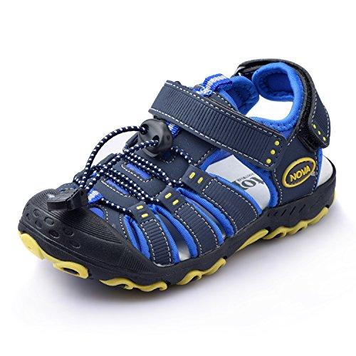 Nova Toddler Little Boys Summer Sandals NF Boy NFBS124 Blue 9 (Sandal Toddler Boys)
