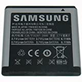 Samsung Original OEM 1650 mAh Spare Replacement Li-Ion Battery for Samsung Captivate Glide/Galaxy S/Vibrant/Focus - Non-Retail Packaging - Silver