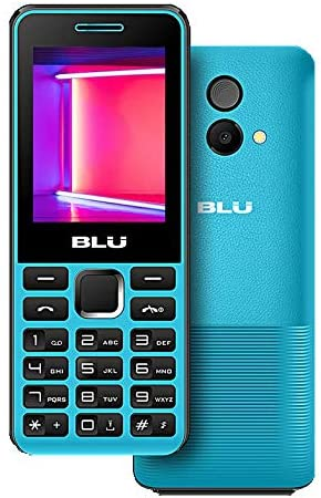 BLU Tank II T193 Unlocked GSM Dual-SIM Cell Phone w/ Camera and 1900 mAh Big Battery - Unlocked Cell Phones - Retail Packaging - Black Red