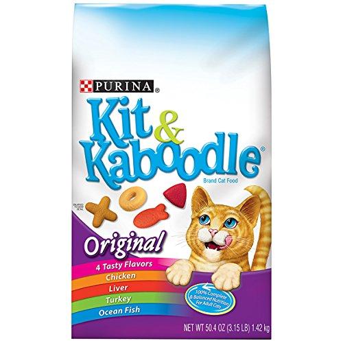 Purina Kit & Kaboodle Original Cat Food - (6) 3.15 lb. Bag