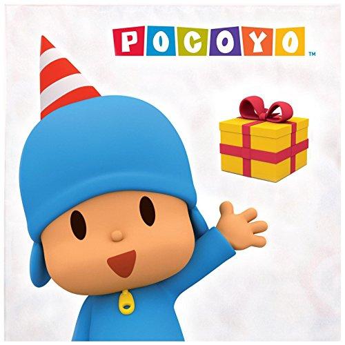 BirthdayExpress Pocoyo Party Supplies Lunch Napkins -