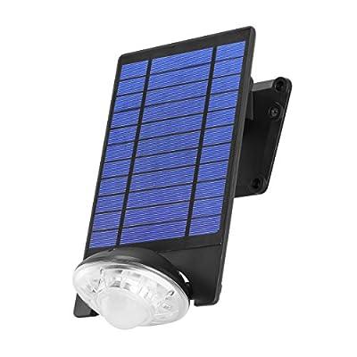 Link2Home EM-SL451B Solar Flood Light, Black